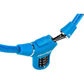 Masterlock 8229 Kabelschloss 12mm x 900mm blau